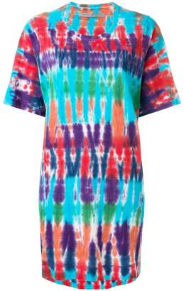 Raquel Allegra tie-dye T-shirt dress
