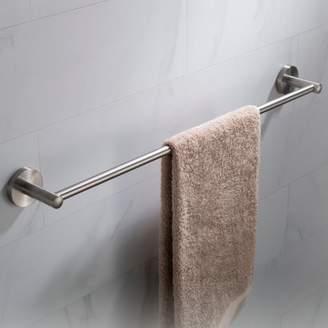Elie Kraus KRAUS 24-inch Bathroom Towel Bar, Brushed Nickel Finish