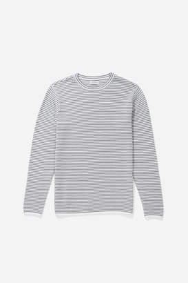 Saturdays NYC Alek Stripe Long Sleeve Shirt