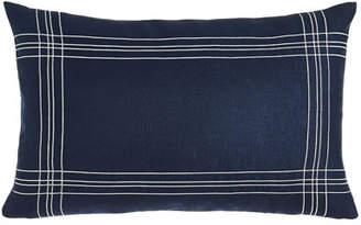 Sferra Nautical Decorative Pillow, Blue/White