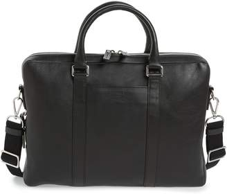 Shinola Signature Leather Computer Briefcase