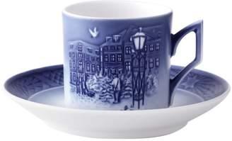 Royal Copenhagen Porcelain Cup & Saucer Set (2 PC)