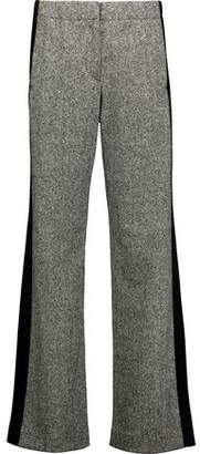 Rag & Bone Adler Faille-Paneled Marled Stretch Wool-Blend Track Pants