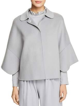 Emporio Armani Cape-Style Wool & Cashmere Jacket