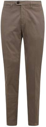 Canali Twill Slim Fit Chinos