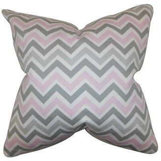 The Pillow Collection Howel Zigzag Cotton Throw Pillow Cover The Pillow Collection