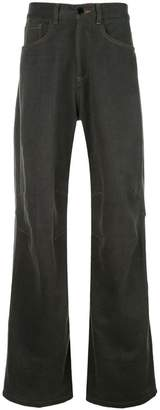Phipps dark brown flared jeans