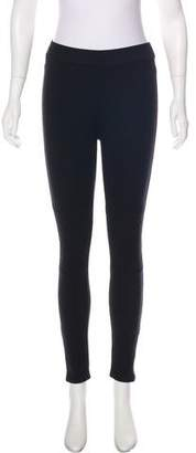 Theory Quilted Mid-Rise Leggings