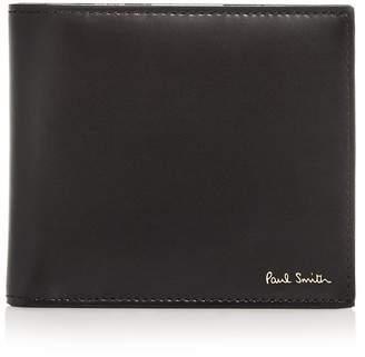 Paul Smith Camera-Print Leather B-Fold Wallet