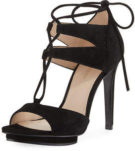 Pelle Moda Talbot High Suede Dressy Sandal