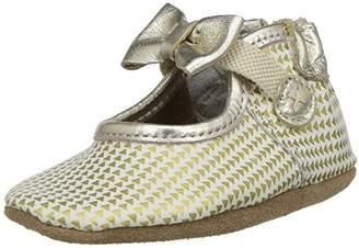 Robeez Girls' Mary Jane Soft Soles Crib Shoe