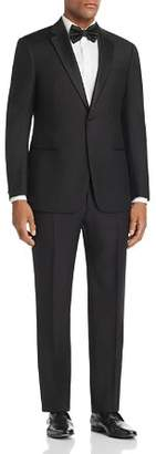 Giorgio Armani Black Regular Fit Notched-Lapel Tuxedo