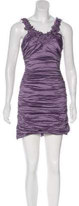 BCBGMAXAZRIA Gathered Mini Dress w/ Tags