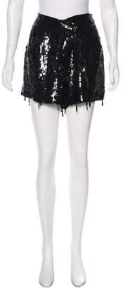 Monse Silk Sequin Shorts w/ Tags