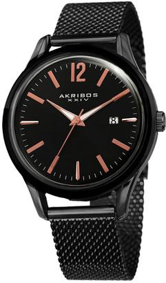 Akribos XXIV Akribox Xxiv Men's Stainless Steel Watch