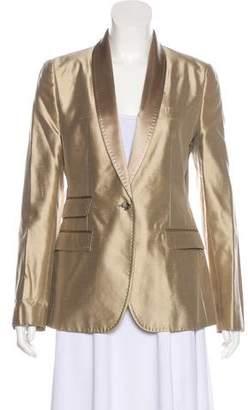 Dolce & Gabbana Silk Shawl Collar Blazer