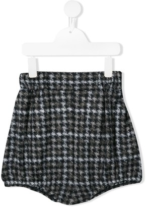 Douuod Kids houndstooth shorts