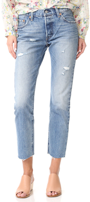 Levi's LVC 1967 Customized 505 Jeans $278 thestylecure.com