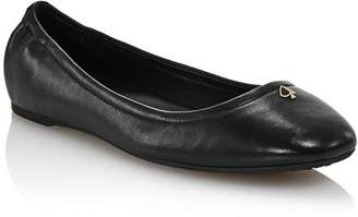 Kate Spade Women's Kora Leather Ballet Flats