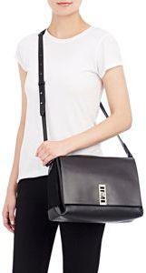 Proenza Schouler Elliot Shoulder Bag-Black
