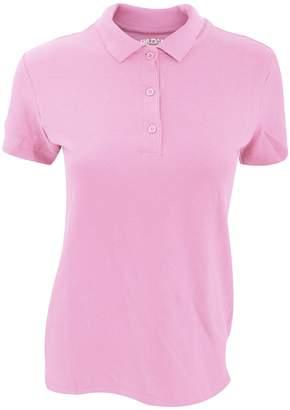 Gildan Womens/Ladies Premium Cotton Sport Double Pique Polo Shirt (2XL)