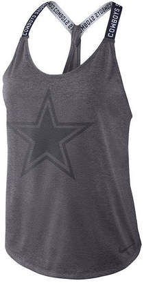 Nike Women's Dallas Cowboys Elastika Tank Top