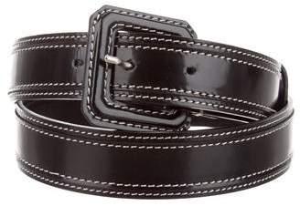 Christian Dior Leather Skinny Belt