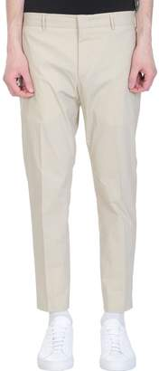 Pt01 Beige Cotton Pants