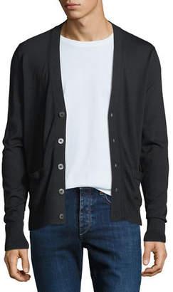 Tom Ford Men's Fine-Gauge Wool Button-Front Cardigan