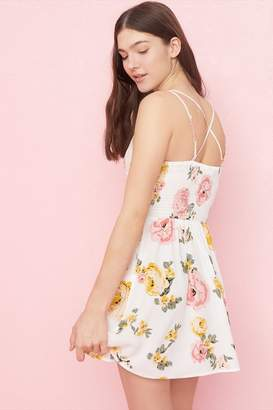 Garage Bustier Fit & Flare Dress