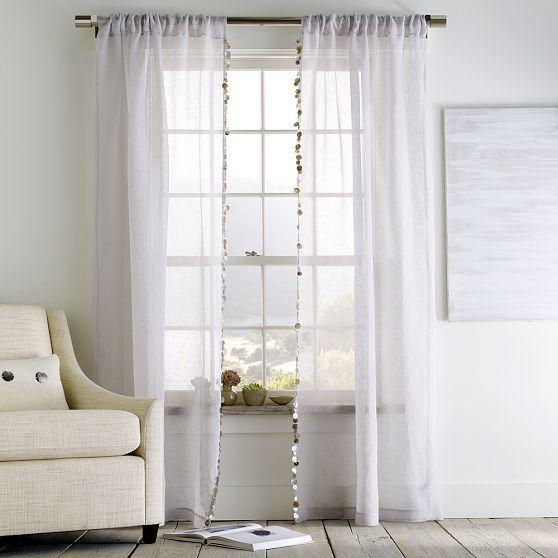 Capiz Window Panel