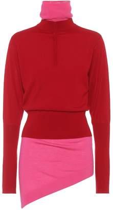 J.W.Anderson Stretch-wool turtleneck sweater