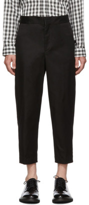 Neil Barrett Black Carrot Fit Trousers