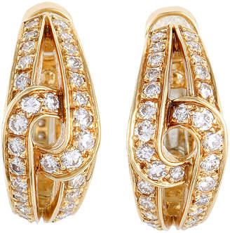 Cartier Heritage  18K 1.00 Ct. Tw. Diamond Clip-On Drop Earrings