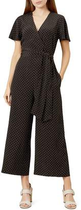 Hobbs London Jemma Polka Dot Jumpsuit
