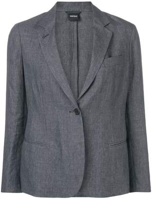 Aspesi single-breasted blazer
