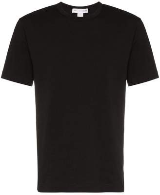 Comme des Garcons rear logo print cotton t shirt