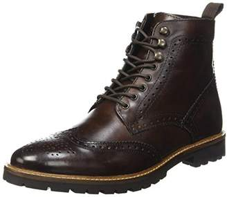 Base London Troop, Men's Classic Boots & Boots Brown Size: