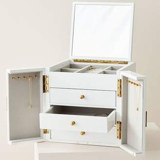 west elm Modern Lacquer Jewelry Box – Cube