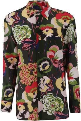 Aspesi Floral Button Shirt
