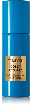 Tom Ford Beauty - Costa Azzurra All Over Body Spray - Cypress Oil, Juniper And Vanilla, 150ml $67 thestylecure.com