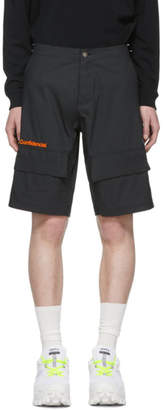 Marcelo Burlon County of Milan Black Confidencial Shorts