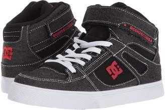 DC Kids Pure High-Top TX SE EV Boys Shoes