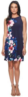 Lauren Ralph Lauren Suzan Windell Floral Matte Jersey Dress Women's Dress