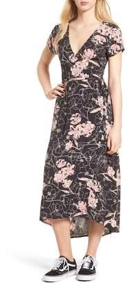 Billabong Wrap Me Up Midi Dress