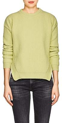 Rick Owens Women's Rib-Knit Wool Sweater