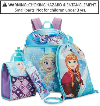 Disney Disney's Frozen Little & Big Girls 5-Pc. Backpack & Accessories Set