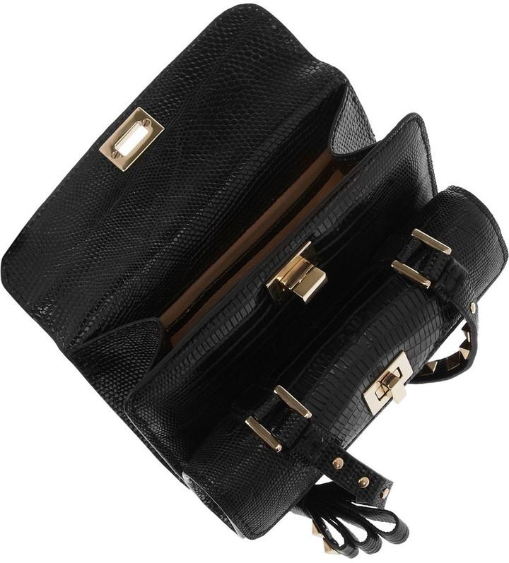 Valentino Small lizard shoulder bag