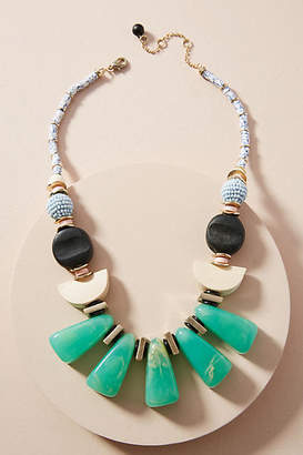 Anthropologie Fanfare Bib Necklace