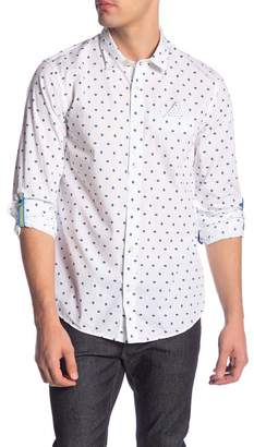 Scotch & Soda Geo Print Regular Fit Shirt